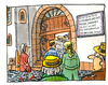 Cartoon: ... (small) by GB tagged katholisch,kirche,church,catholic,missbrauch,kloster,pater,kinder,schüler,internat,zögling