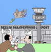 Cartoon: Flughaven Berlin (small) by Retlaw tagged flughaven,berlin,milliardenprojekt
