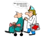 Cartoon: Pflegestufe (small) by Retlaw tagged benehmen