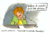 Cartoon: Angela Merkel (small) by Mario Schuster tagged karikatur,cartoon,mario,schuster,angela,merkel,nsa,lauschangriff