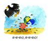 Cartoon: Germany vs Brazil (small) by Mario Schuster tagged karikatur,cartoon,mario,schuster,fussball,wm,brasilien,brazil,germany,deutschland