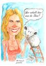 Cartoon: Heidi gegen Heidi (small) by Mario Schuster tagged karikatur,cartoon,mario,schuster,heidi,klum