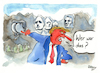 Cartoon: Trump am Mount Rushmore verewigt (small) by Mario Schuster tagged trump,usa,mount,rushmore,karikatur,cartoon,mario,schuster,gera,greiz,zeichnung
