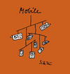 Cartoon: mobile (small) by sikitu tagged mobile,handy,telefon,mobil