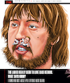 Cartoon: Case Keenum Orton Broncos Stache (small) by karlwimer tagged denver,broncos,case,keenum,kyle,orton,american,football,quarterbacks,sports