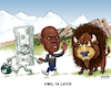 Cartoon: Coach Mel Tucker Runs Out on CU (small) by karlwimer tagged wimer,sports,american,football,college,ncaa,coaches,colorado,buffs,michigan,state,buffalo
