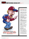 Cartoon: That Red Wings Suck Guy (small) by karlwimer tagged hockey,avalanche,redwings,sports,angry,cartoon,satire