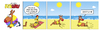 Cartoon: KenGuru digitale Sonnenuhr (small) by droigks tagged känguru,strand,urlaub,sonnenbad,droigks,uhrzeit,sonnenuhr,flexibel,intelligent,meer