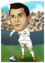 Cartoon: CR7 (small) by teukudq tagged 191011