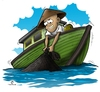 Cartoon: fisherman (small) by teukudq tagged 191011