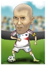 Cartoon: zidane (small) by teukudq tagged 191011