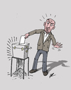 Cartoon: Election (small) by Ballner tagged election