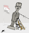 Cartoon: Spring in Syria (small) by Ballner tagged assad,syria,russia
