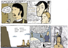 Cartoon: lewis and clark (small) by marco petrella tagged comix