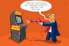 Cartoon: trump und die journalisten (small) by leopold maurer tagged trump,donald,usa,journalist,freie,presse,wut,zorn,ukraine,fragen,medien