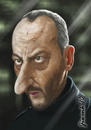 Cartoon: Jean Reno (small) by Jiwenk tagged jean,reno