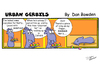 Cartoon: URBAN GERBILS. Cupcakes (small) by Danno tagged urban,gerbils,cartoon,strip,comic,funny,published,weekly,newspaper,humor,cupcakes