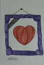Cartoon: Heart (small) by omar seddek mostafa tagged heart