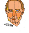 Cartoon: Russian President Putin (small) by omar seddek mostafa tagged russian,president,putin