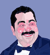 Cartoon: Tariq Abdel Aziz (small) by omar seddek mostafa tagged tariq,abdel,aziz,egyptian,actor
