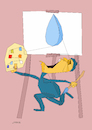 Cartoon: Water (small) by omar seddek mostafa tagged water