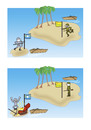 Cartoon: Island (small) by joruju piroshiki tagged island,ship,territorial,right,treasure,national,flag