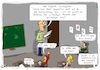 Cartoon: Textaufgabe (small) by Grikewilli tagged schule,homeoffice,corona,internet,buffering,puffer,breitband,mathe,schüler,klasse,streaming,serie,filme,glasfaser,lehrer,textaufgabe