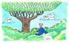 Cartoon: Birds Watching (small) by Kerina Strevens tagged bird,watching,eyes,trees,birds,nature,twitching