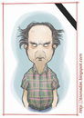 Cartoon: Harvey Pekar (small) by Freelah tagged harvey,pekar