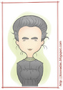 Cartoon: Madame Curie (small) by Freelah tagged marie,curie,nobel,scientist,physics,chemistry