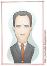 Cartoon: Tom Hanks (small) by Freelah tagged tom hanks