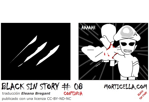 Cartoon: Black Sin Story 8 ES (medium) by morticella tagged comics,fumetti,anime,manga,gratis,morticella,bsses
