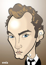 Cartoon: Jude Law (small) by Ca11an tagged jude,law,movie,star,english,actor,alfie