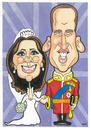 Cartoon: Kate and Prince William. (small) by Ca11an tagged kate,prince,william