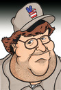 Cartoon: Michael Moore (small) by Ca11an tagged micael,moore,caricature