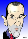 Cartoon: Paul Le Guen (small) by Ca11an tagged paul,le,guen,caricatures,cameroon,national,football,team,french,psg
