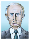 Cartoon: Kalter Krieger (small) by Jan Rieckhoff tagged wladimir,putin,präsident,russland,russische,föderation,ukraine,krim,annexion,krise,einmarsch,kalter,krieg,portrait,karikatur,jan,rieckhoff