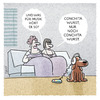 Cartoon: ... (small) by markus-grolik tagged euro,european,song,contest,esc,wurst,musik,hund,pop,mp3,kopfhörer,damen,wauwau,wau,haustier,cartoon,grolik