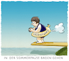 Cartoon: ... (small) by markus-grolik tagged sommerpause,umfragewerte,merkel,angela,berlin,cdu,csu