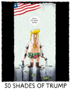 Cartoon: ...coming soon... (small) by markus-grolik tagged trump,horror,usa,amerika,präsident,regierung,kabinett,welt