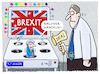 Cartoon: ..Endlosschleife... (small) by markus-grolik tagged london,europa,deal,brexit,may,englan,irland,nordirland,grossbritannientheresa,brüssel,backstop