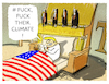Cartoon: Klimakiller NR 1 (small) by markus-grolik tagged trump,donald,usa,paris,klimabkommen,kündigung
