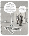 Cartoon: ...Kundenbindung... (small) by markus-grolik tagged tatort,kundenservice,hotline,service,outsourcen,user,konzern,dienstleistung