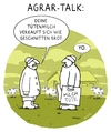 Cartoon: Mund zu Mund Marketing (small) by markus-grolik tagged landwirt,bauer,bauern,milchprodukte,brot,milch,eiweiß,weide,heide,kommunikation,marketing