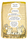 Cartoon: small-talk (small) by markus-grolik tagged fracking,erdgas,erdöl,energie,wirtschaft,raubbau,natur,umweltzerstörung,reichtum,gier,cartoon,grolik