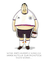 Cartoon: ...Werbeverträge... (small) by markus-grolik tagged horroskop,dfb,löw,nationalmannschaft,fussball,wm,hummels,nutella,werbung,russland,weltmeister,fifa,geld