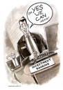 Cartoon: yes we can again (small) by markus-grolik tagged banker