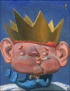 Cartoon: little Willie (small) by greg hergert tagged royal,baby,kate,william