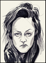 Cartoon: kirsten stewart (small) by condemned2love tagged twilight,kirsten