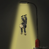 Cartoon: Abduction (small) by Mandor tagged city,lights,abduction
